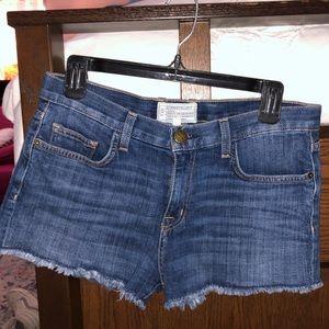 Current Elliot denim shorts